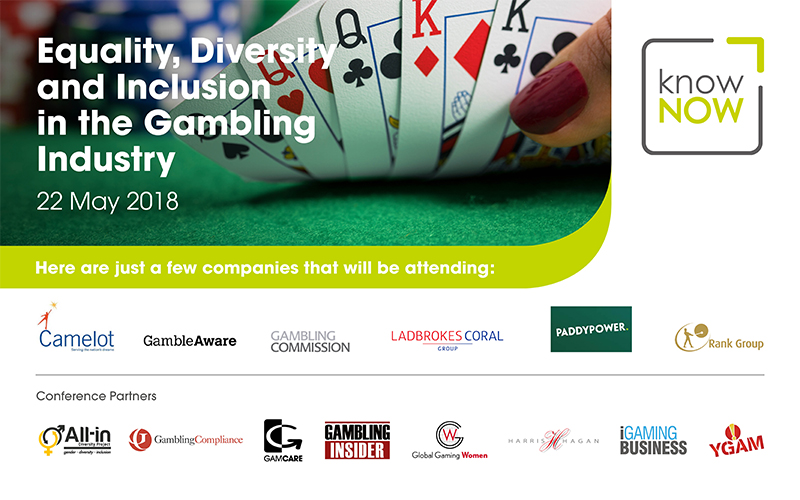 Gambling Industry conference; Equality, Diversity and Inclusion in the Gambling Industry