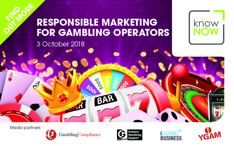 Responsible Marketing for Gambling Operators - conference speakers