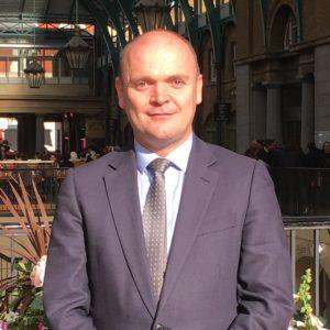 Iain Corby, Deputy Chief Executive. GambleAware.