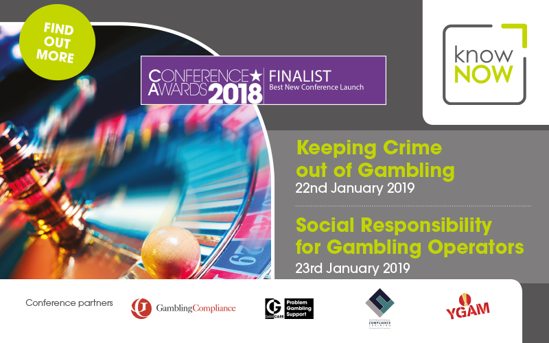 Keeping Crime out of Gambling - 22nd January 2019
