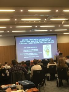 Mark Griffiths, Professor of Psychology, Nottingham Trent University and Director, International Gaming Research unit.