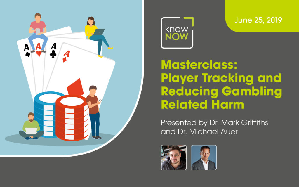 Masterclass: Player Tracking and Reducing Gambling Related Harm