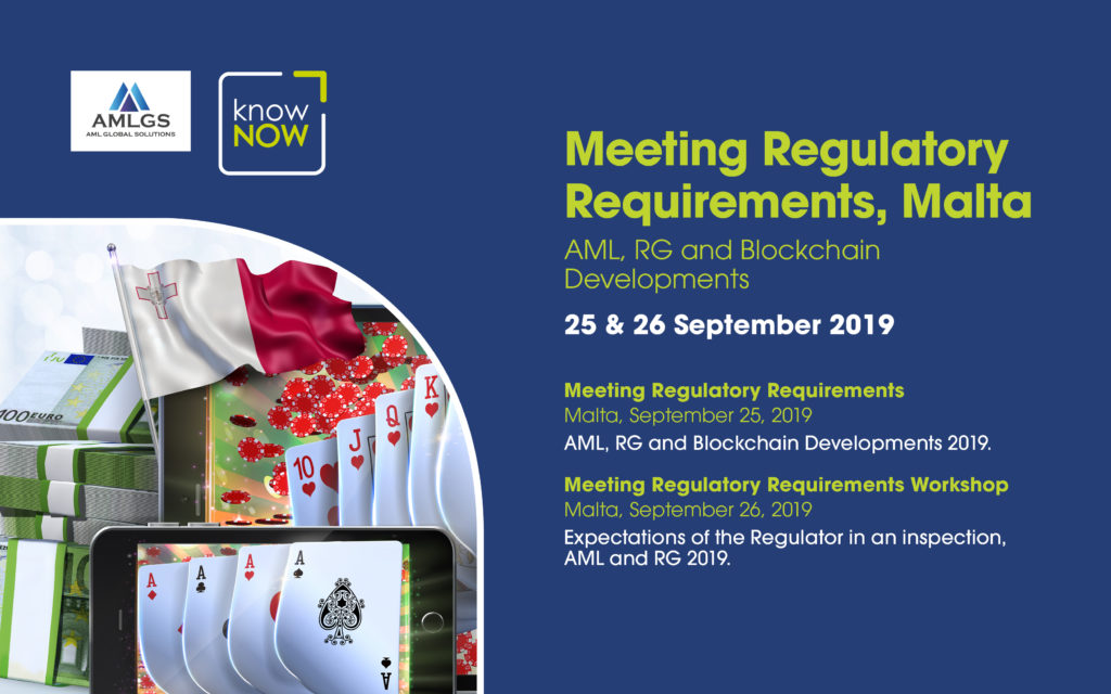 Meeting Regulatory Requirements Conference from KnowNow Limited and AMLGS in Malta