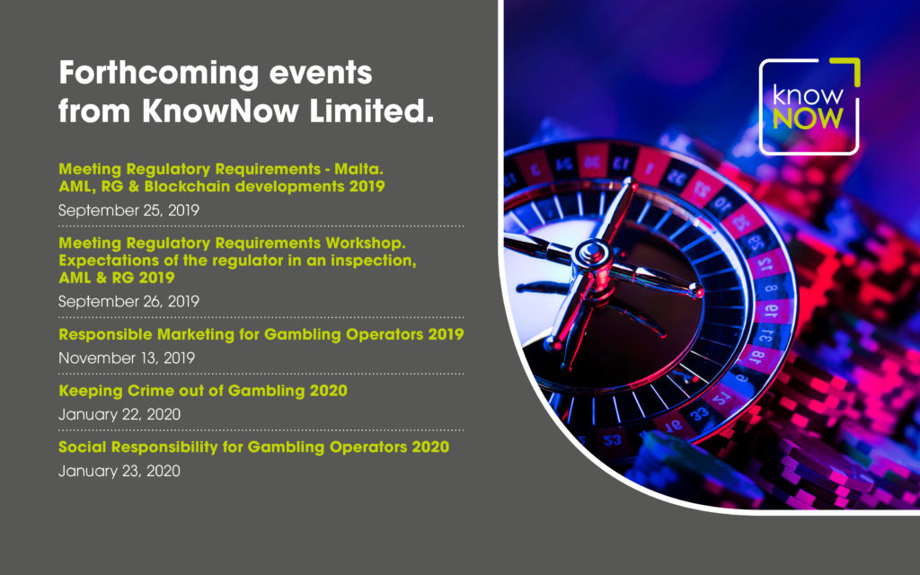 Forthcoming events from KnowNow Limited