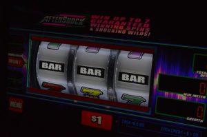 Responsible Gambling. Classic fruit machine with 3 bars