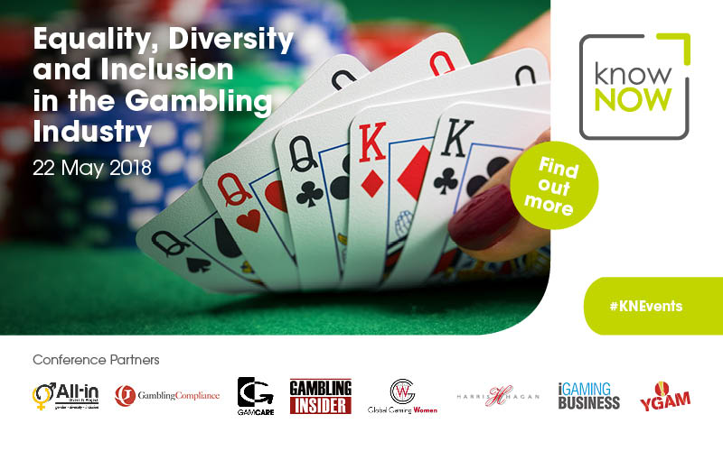 Benefits of Diversity a panel discussion at this event looking at why the gambling industry should be promoting a culture of diversity