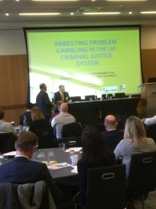 Problem Gambling and Crime at KnowNow conference