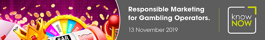 Responsible Marketing for Gambling Operators conference from KnowNow Limited
