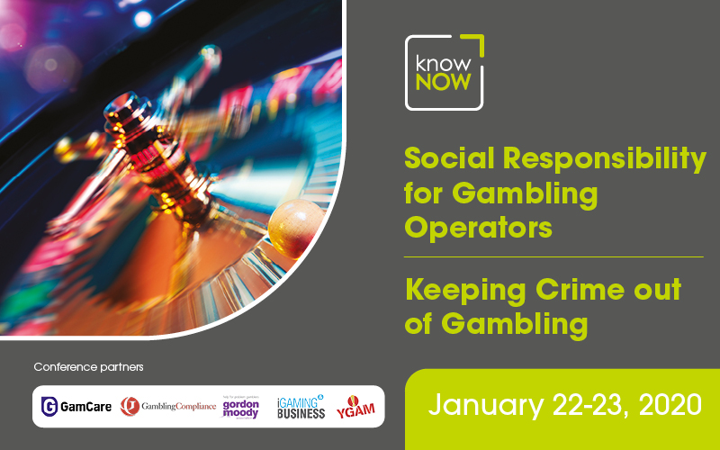 Social Responsibility for Gambling Operators and Keeping Crime out of Gambling from KnowNow Conferences