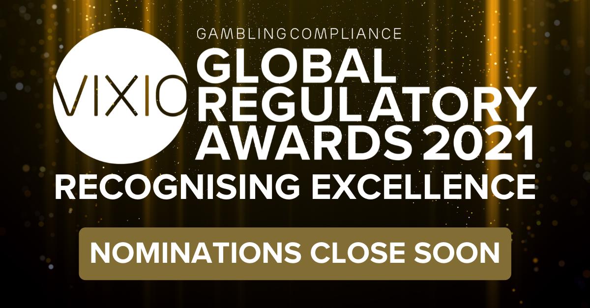 VIXIO GamblingCompliance Global Regulatory Awards 2021