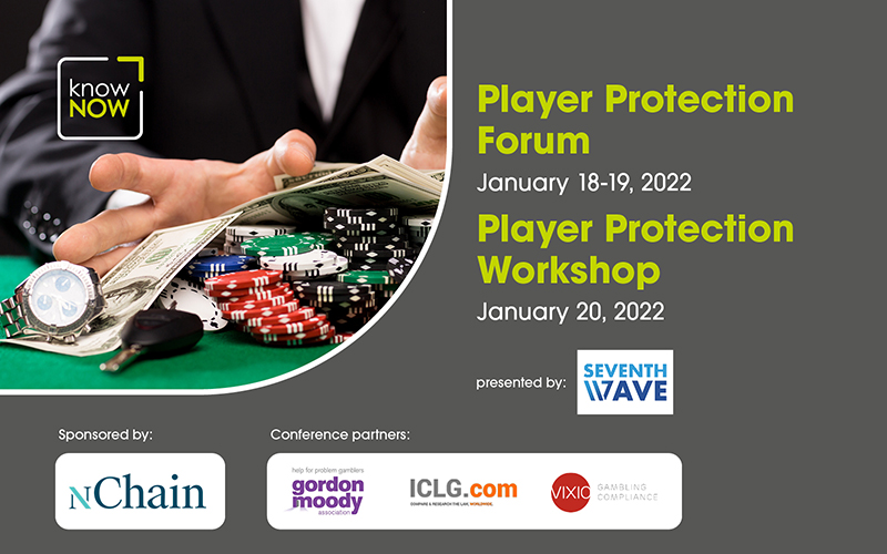 Player Protection Forum and Player Protection Workshop from KnowNow Limited